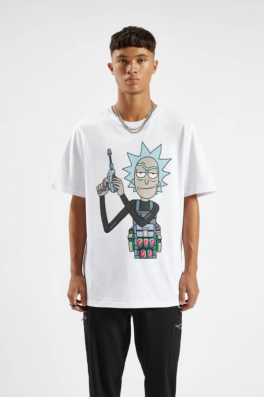 Rick With Gun T-shirt