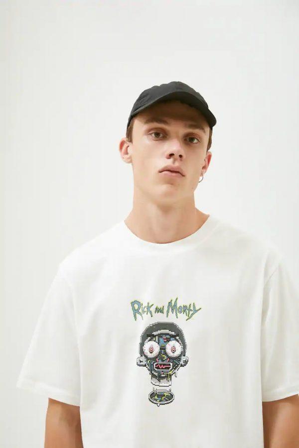R&M Contrast Face T-shirt